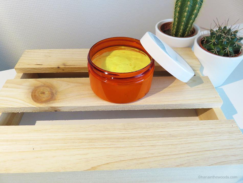 Comment réaliser une crème antioxydante et revitalisante au curcuma ?