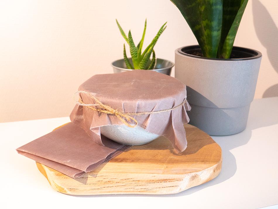 DIY : comment réaliser des emballages alimentaires vegan ?
